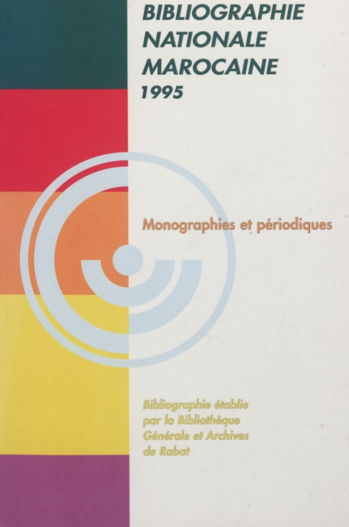 Bibliographie nationale : 1995